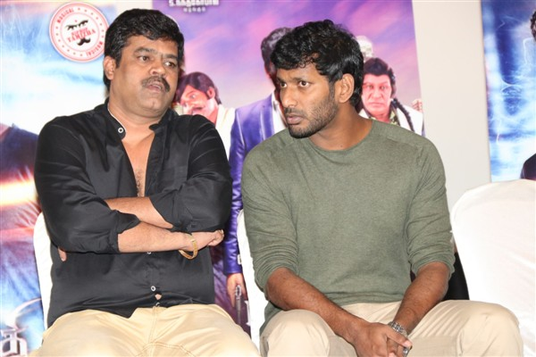 kathi climax press meet in tamil