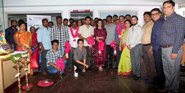 விஜய் ஆண்டனி-ஆத்மிகா நடிப்பில் உருவாகும் புதிய திரைப்படம்