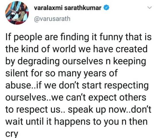 radharavi-nayanthara-crisis-varu-tweets