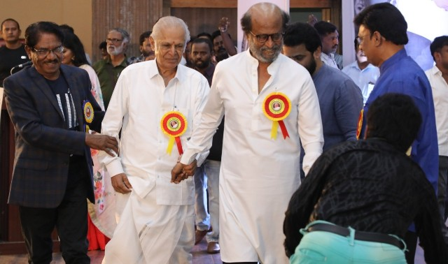 Felicitation Function Photos Of Legendary Writer Kalaignanam (20)