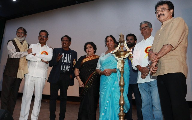 Felicitation Function Photos Of Legendary Writer Kalaignanam (6)