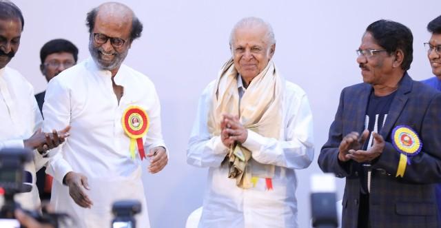 Felicitation Function Photos Of Legendary Writer Kalaignanam (63)