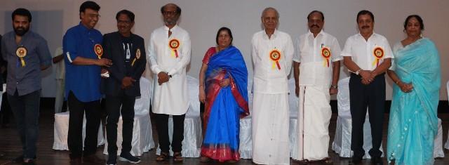 Felicitation Function Photos Of Legendary Writer Kalaignanam (7)